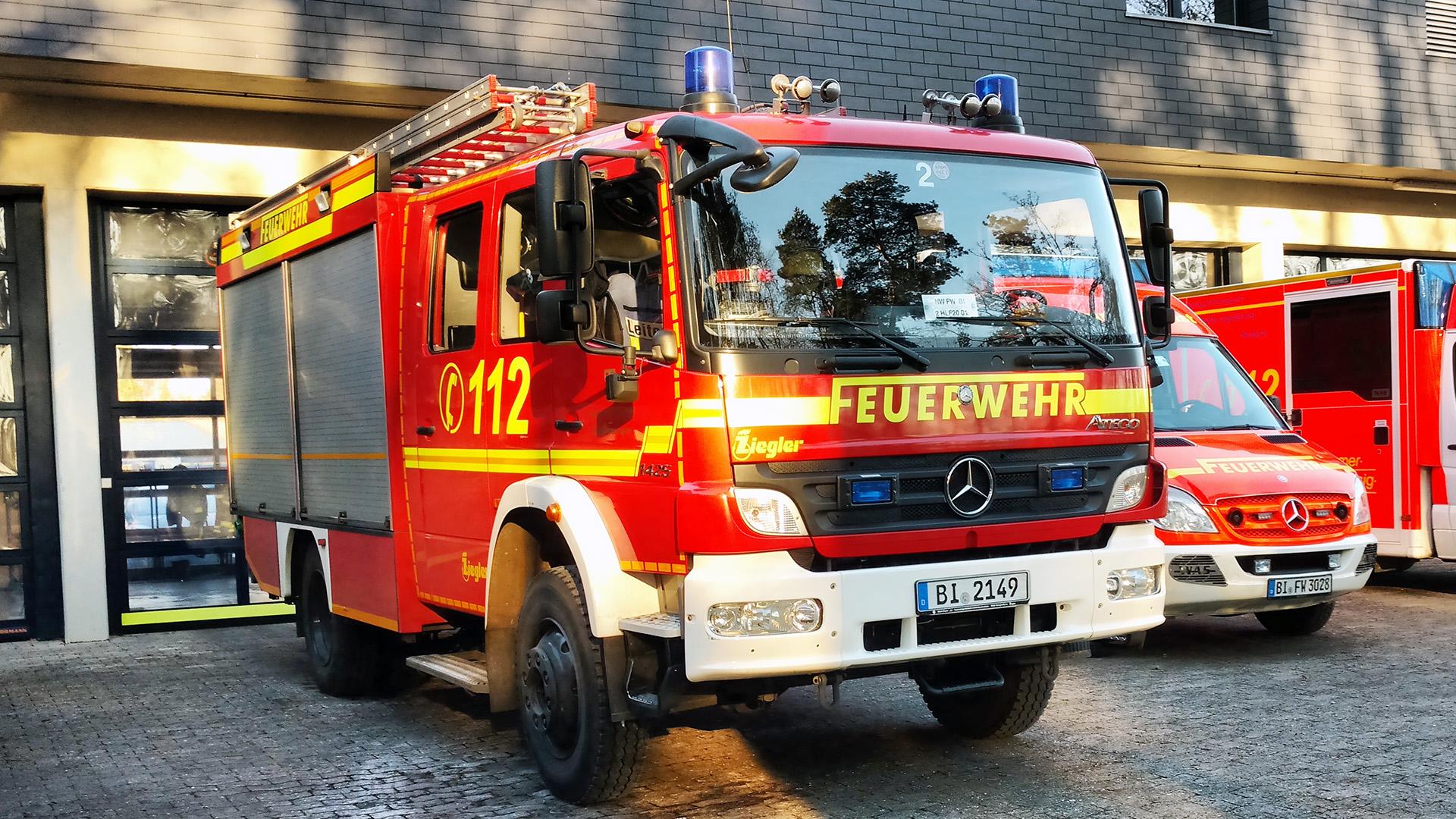 HLF20 Feuerwehr Bielefeld