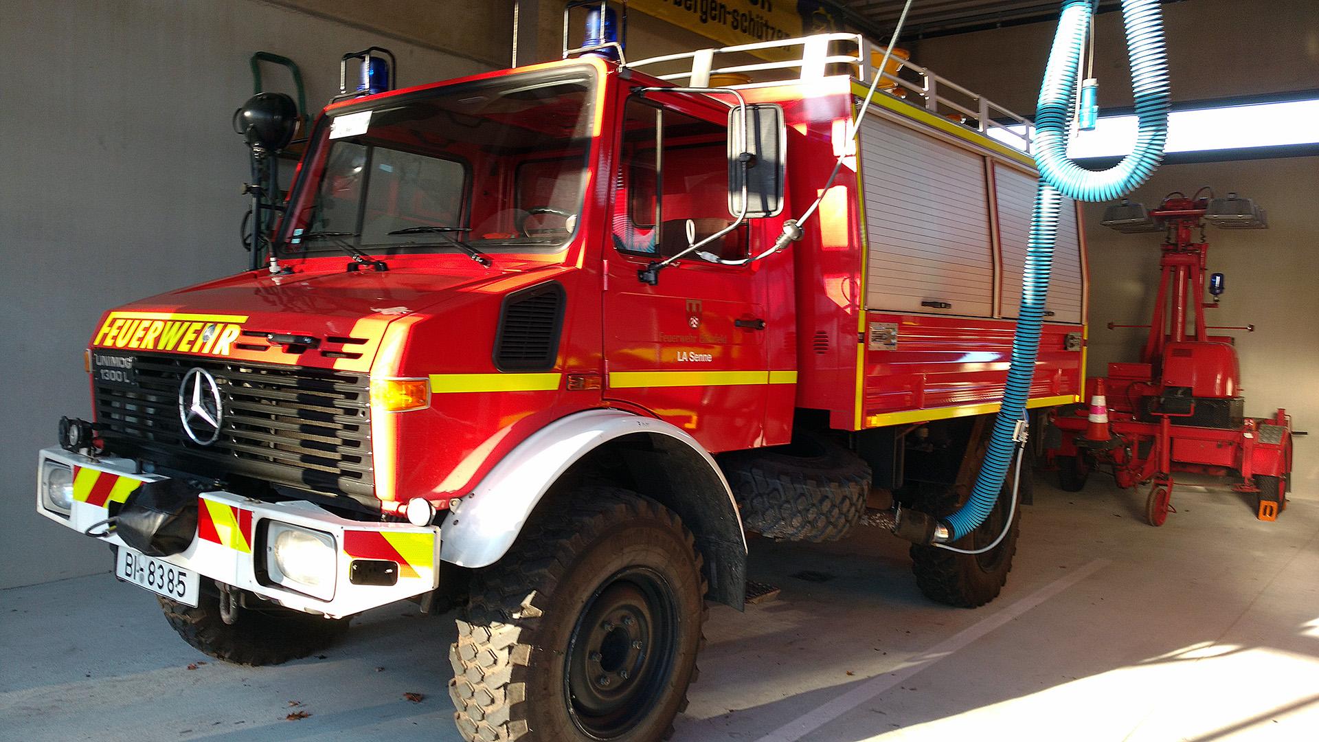 Unimog Feuerwehr Bielefeld LA Senne