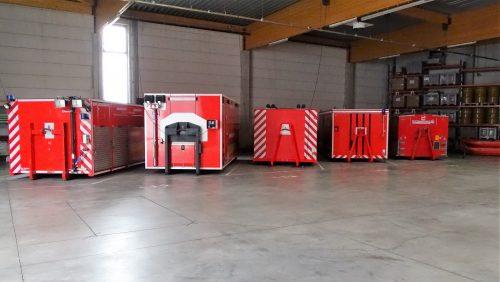 Verschillende containers Antwerpen