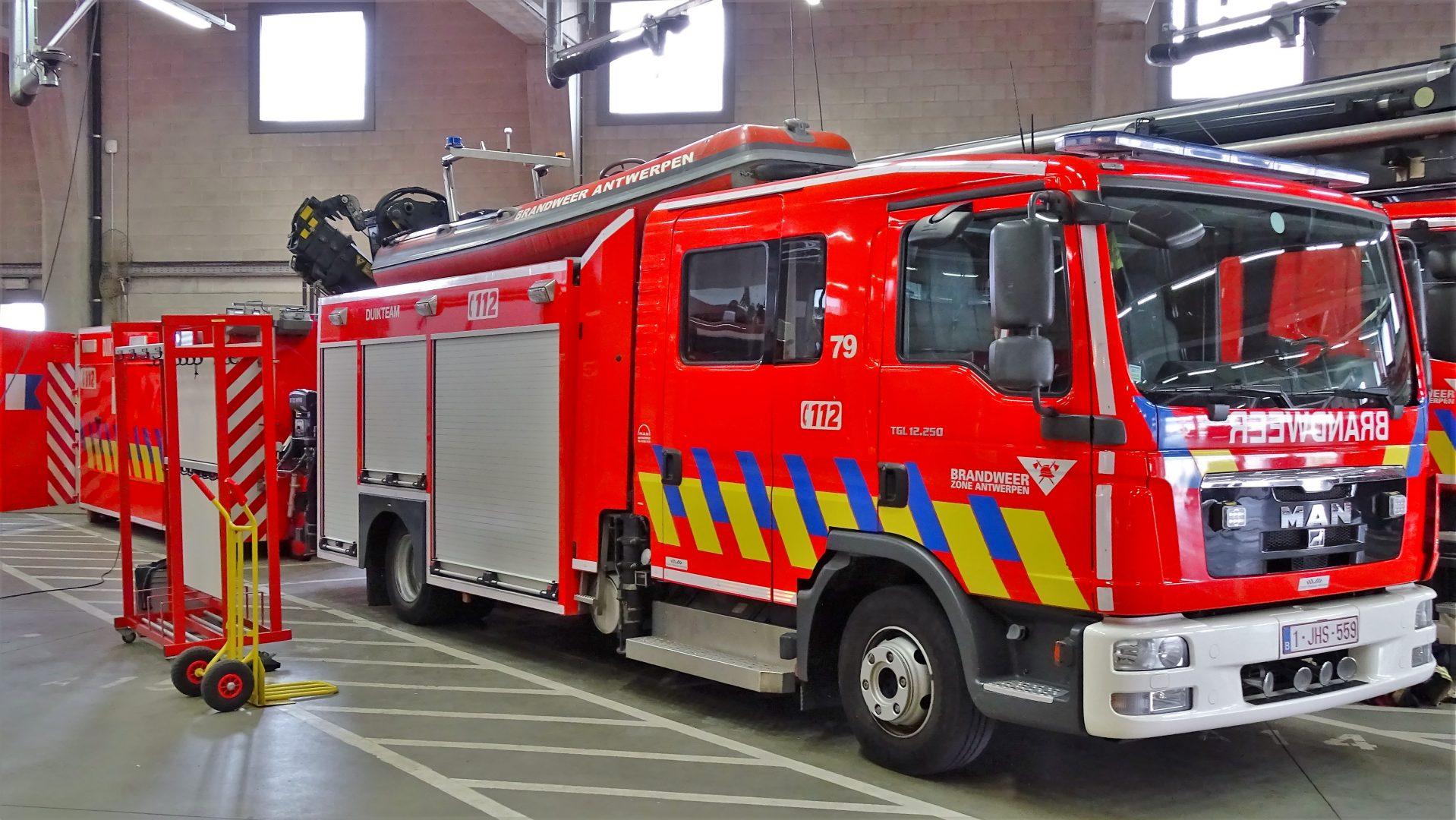 Duikers / bootwagen Antwerpen