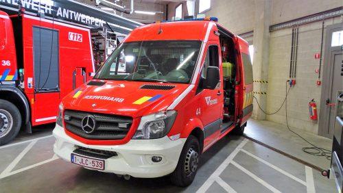 Snelle hulp / tunnelvoertuig Antwerpen