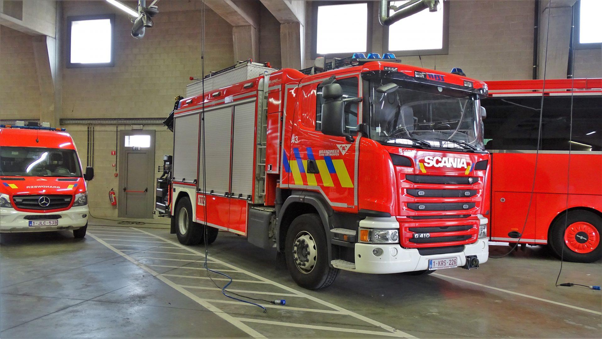 Materiaalwagen Antwerpen