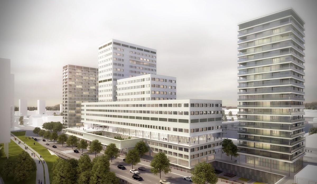 Nieuwe ziekenhuis Antwerpen Noord